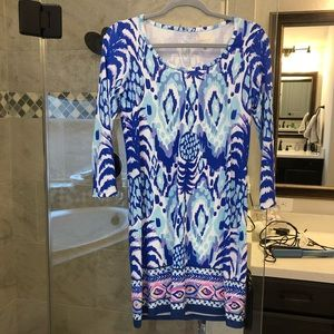 Lily Pulitzer long sleeve dress. Never worn